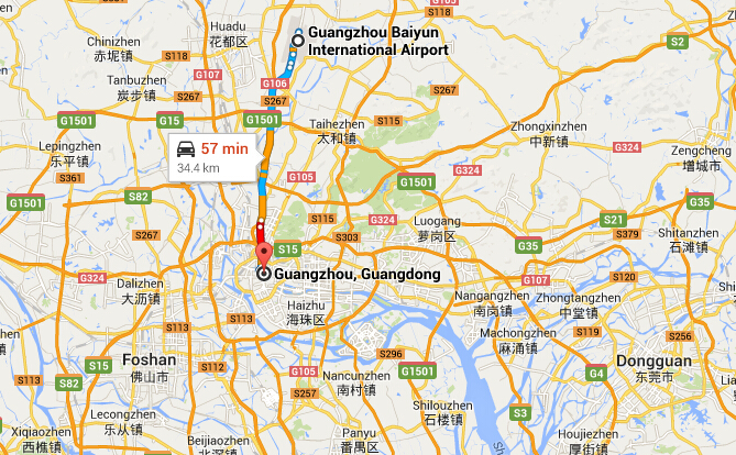 How to Get to the City Center from Guangzhou Baiyun ...