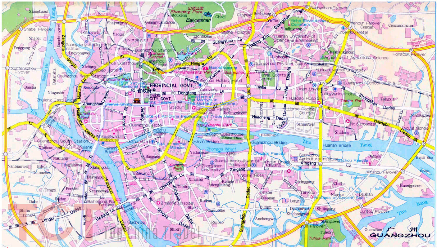 guangzhou map in english pdf