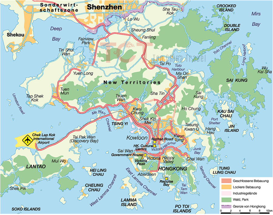 Hong Kong Maps Map of Hong Kong China Hong Kong Tourist maps – Hong Kong Map For Tourist